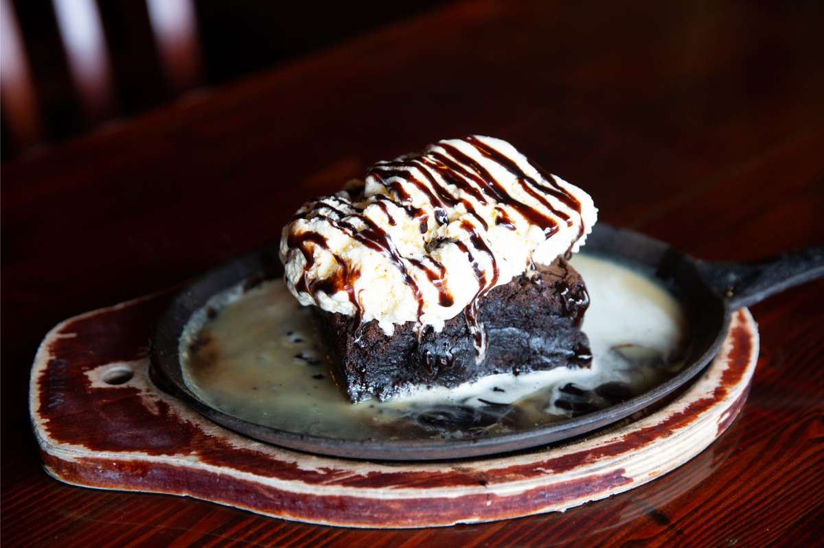 Triple Chocolate Brownie