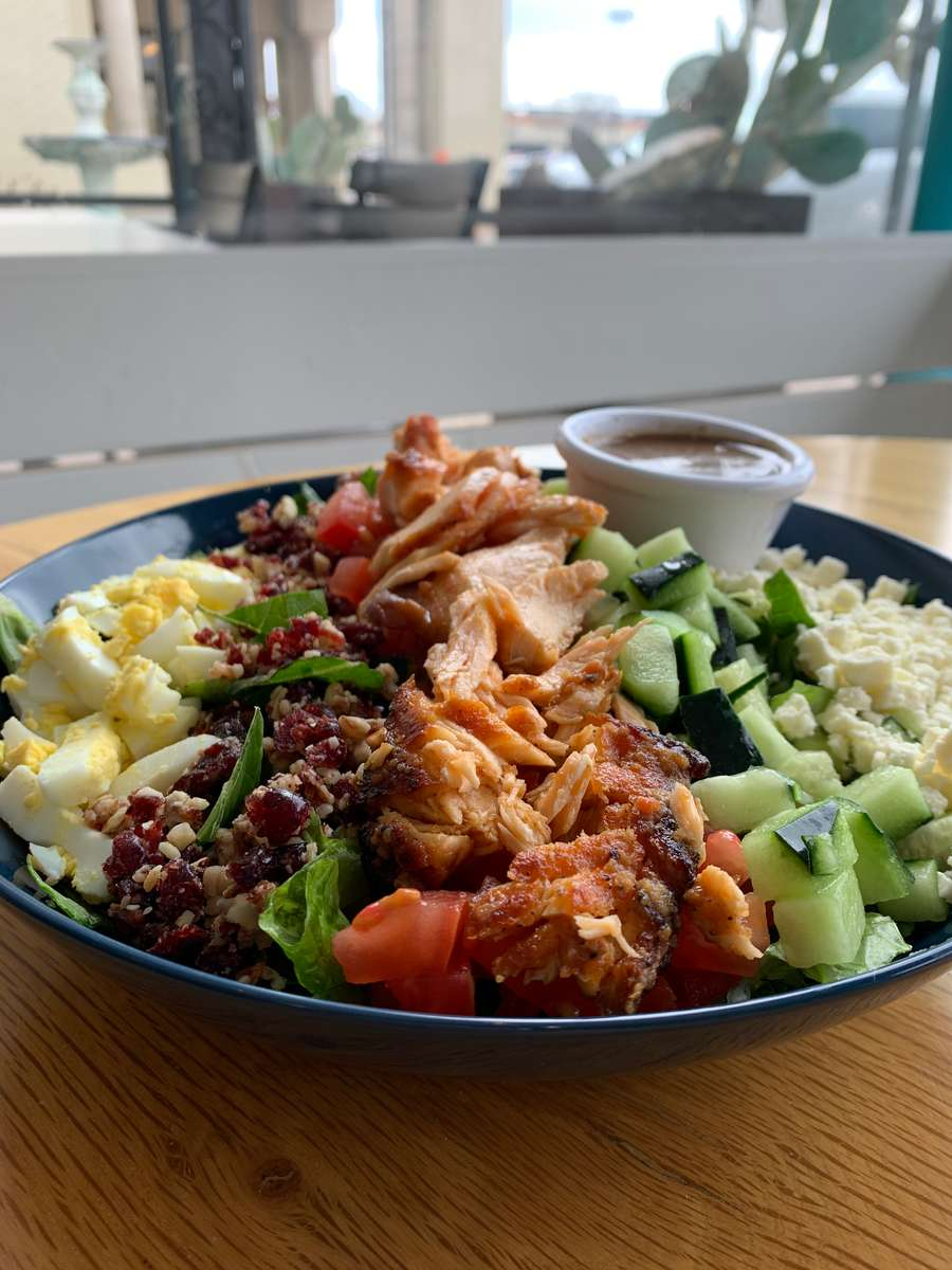 Cobb Salad with Salmon