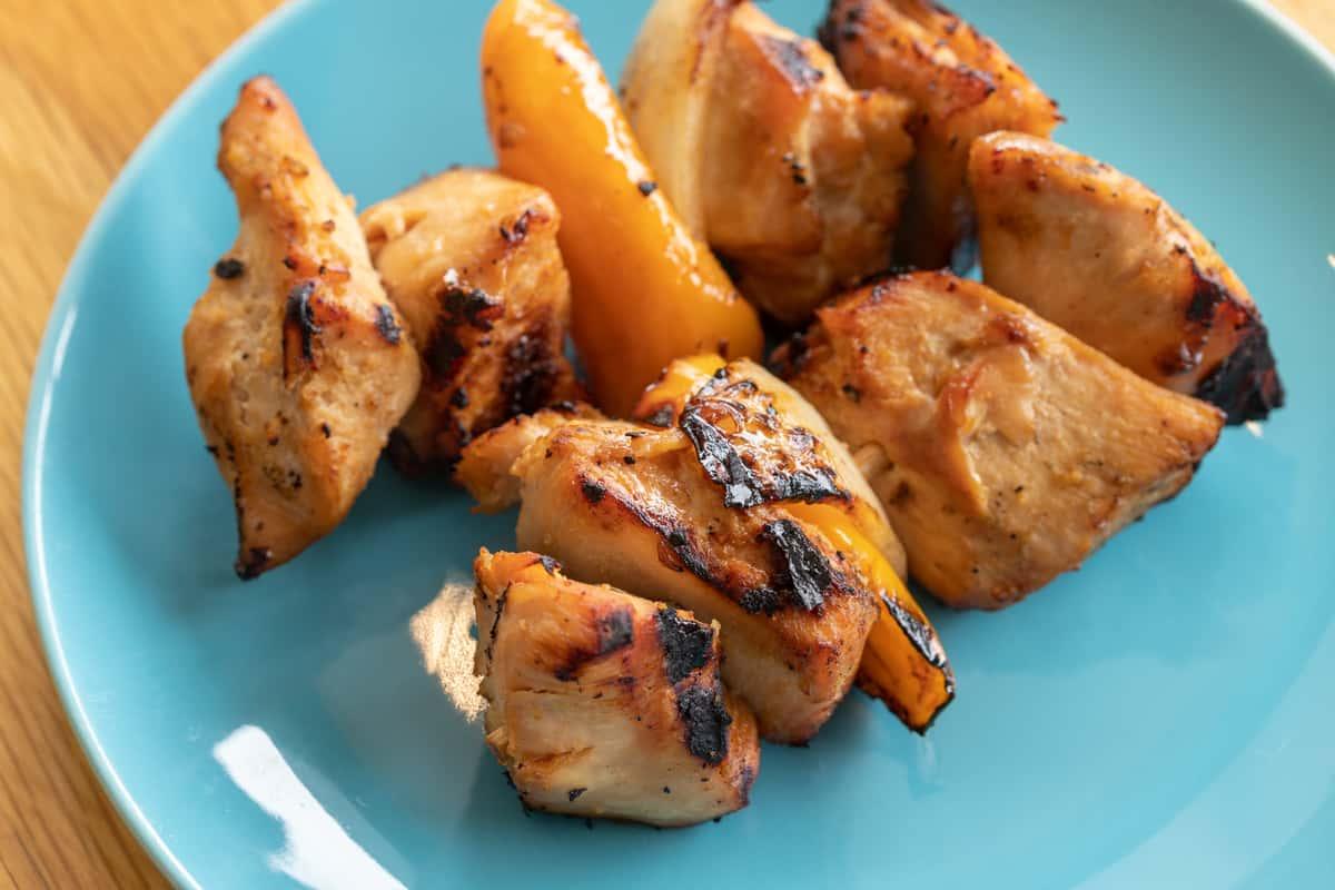 Honey Chicken Kabobs