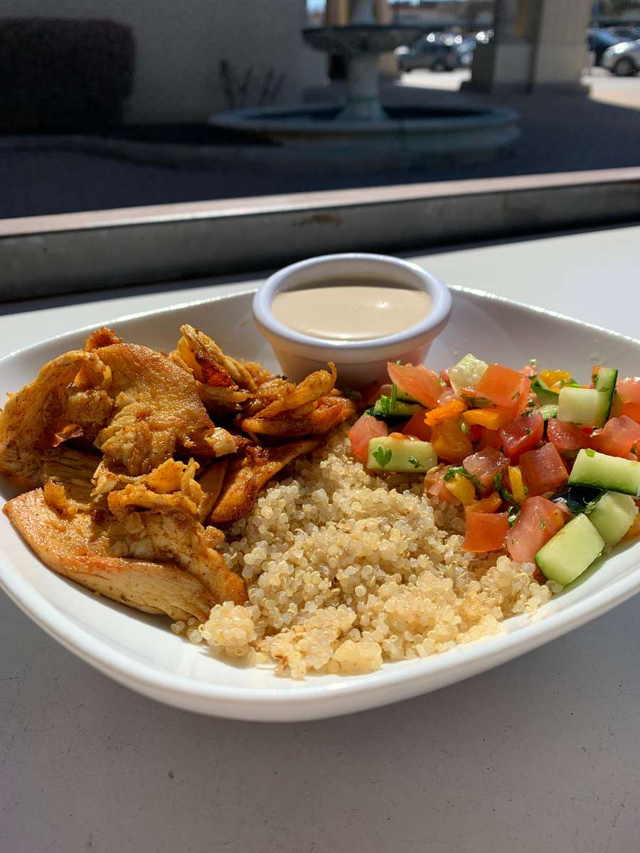 Shawarma Bowl with Cous Cous