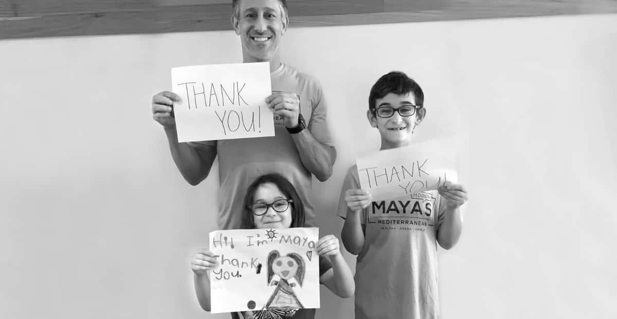 Maya's family