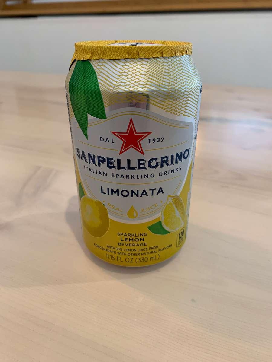 Lemon San Pelegrino Sparkling