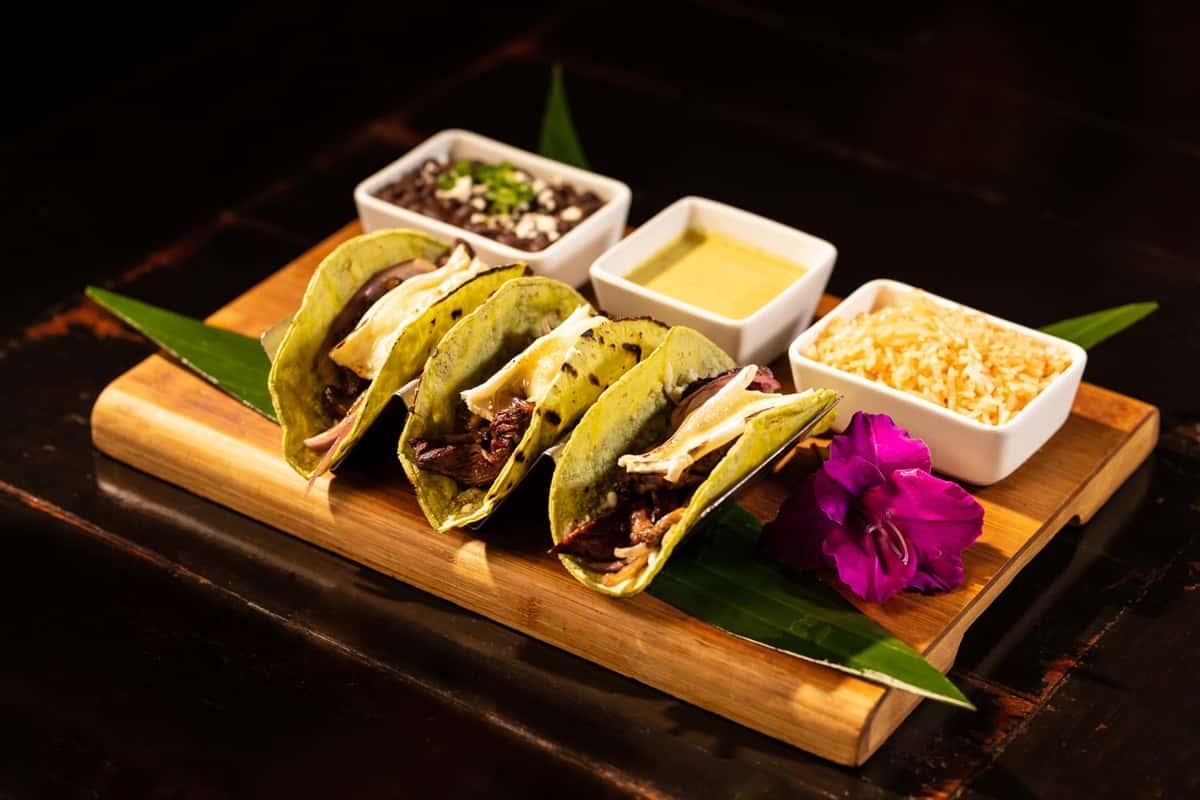 Trio of Tacos de Filete