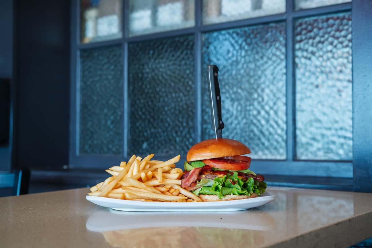 Zane Grey burger