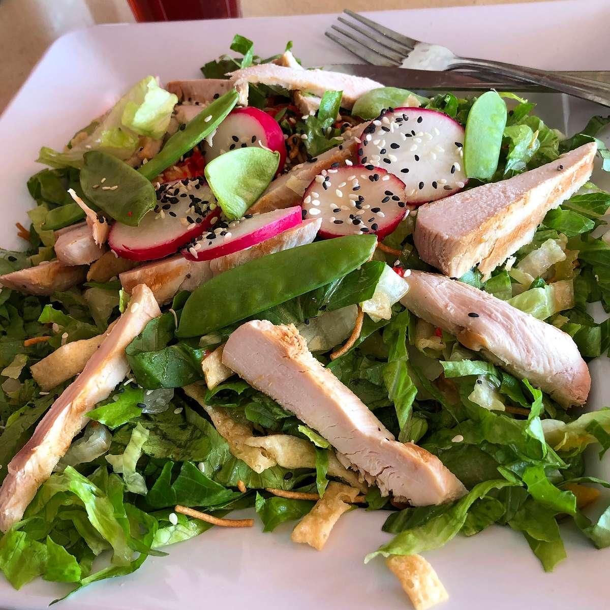 Andy Warhol Salad