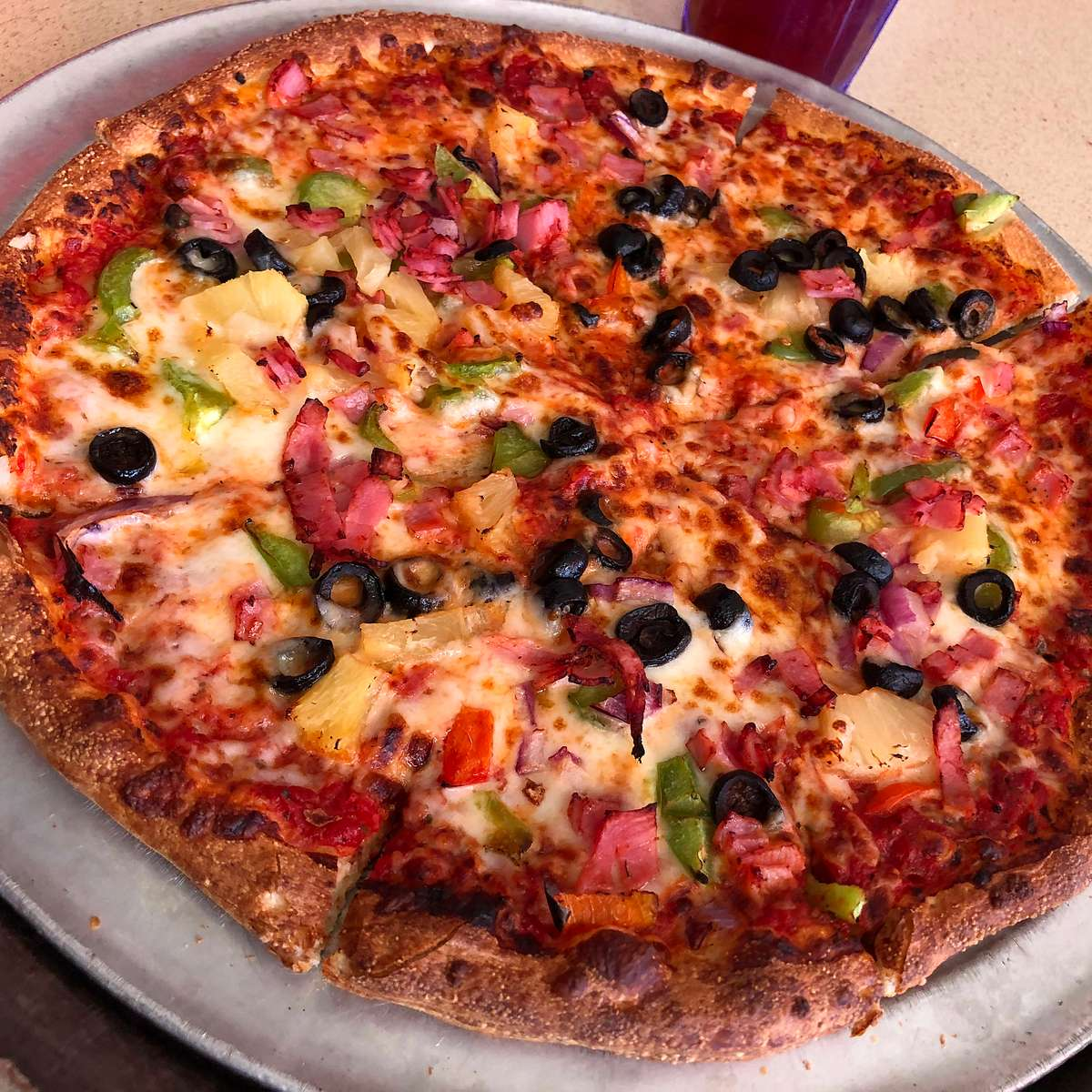 Hawaiian Delight Pizza