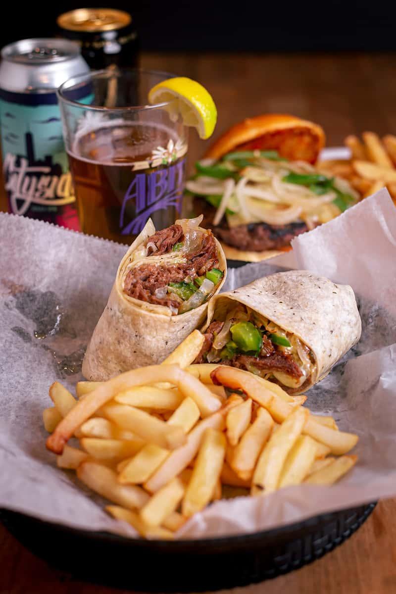 Philly Steak Wrap
