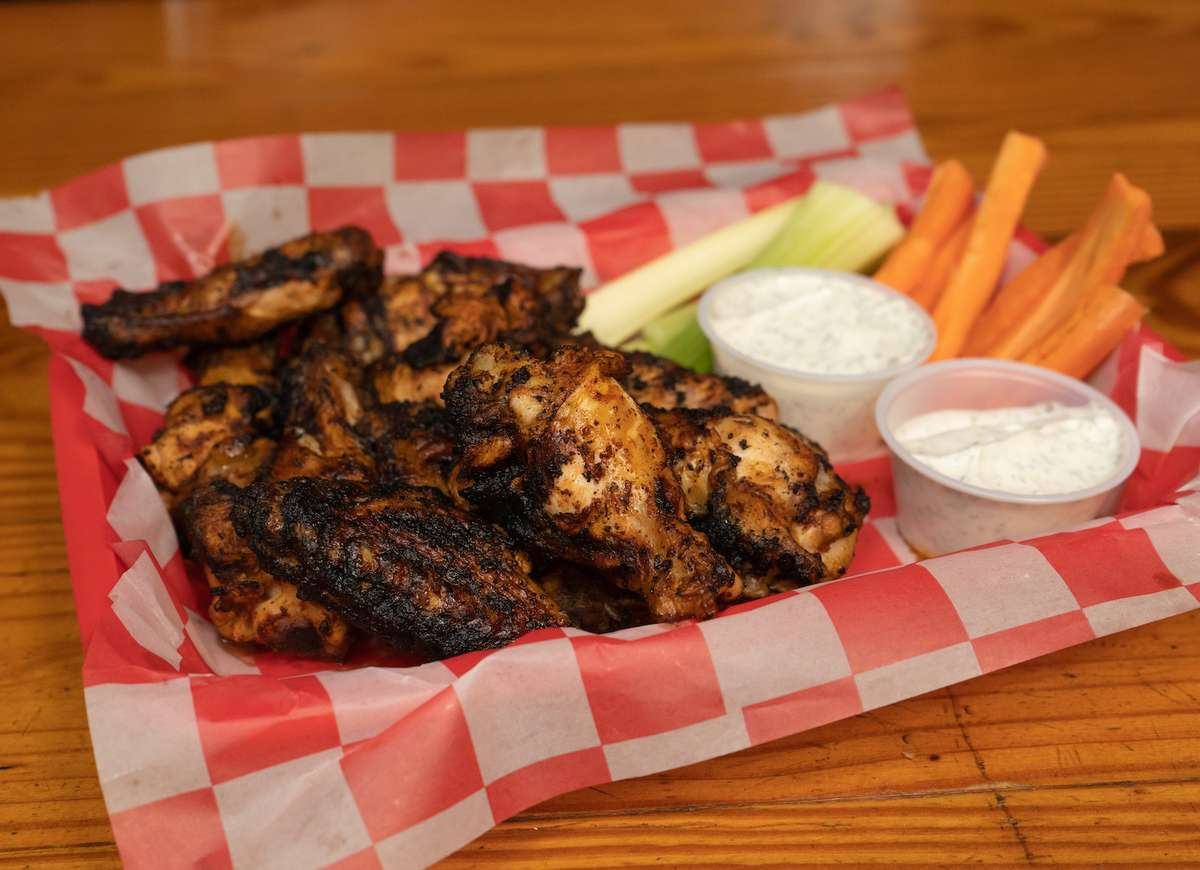 Chargrilled Wings (10)