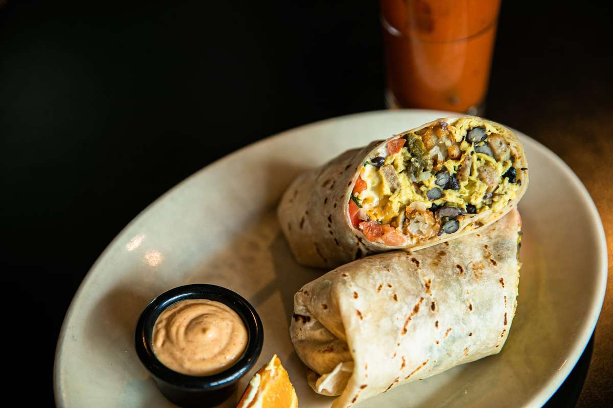 10 am Burrito