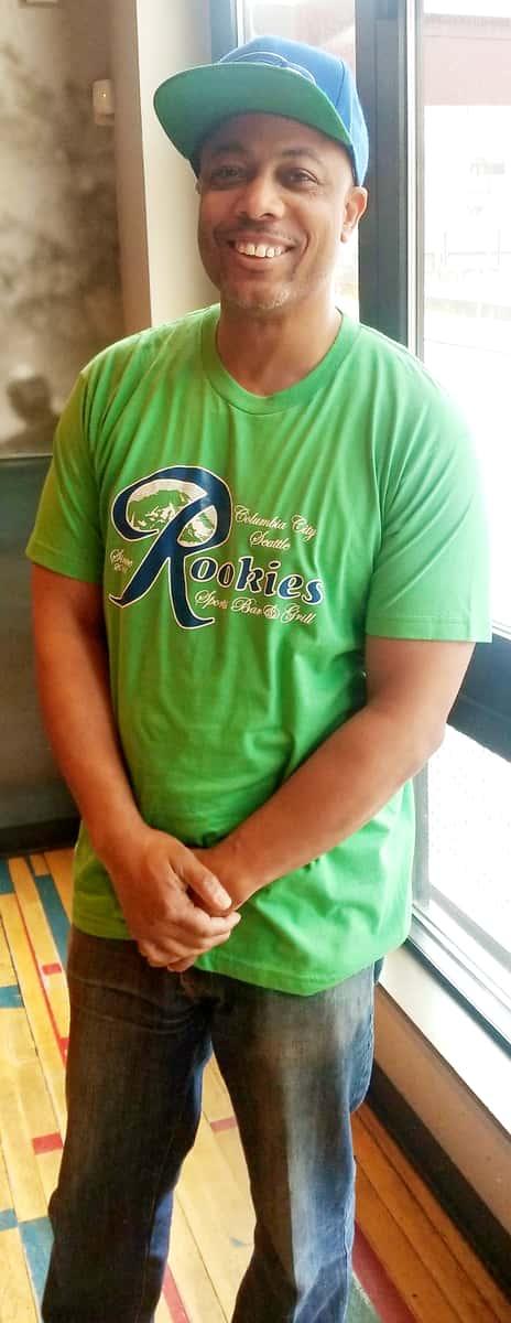 Seahawks Green Tee