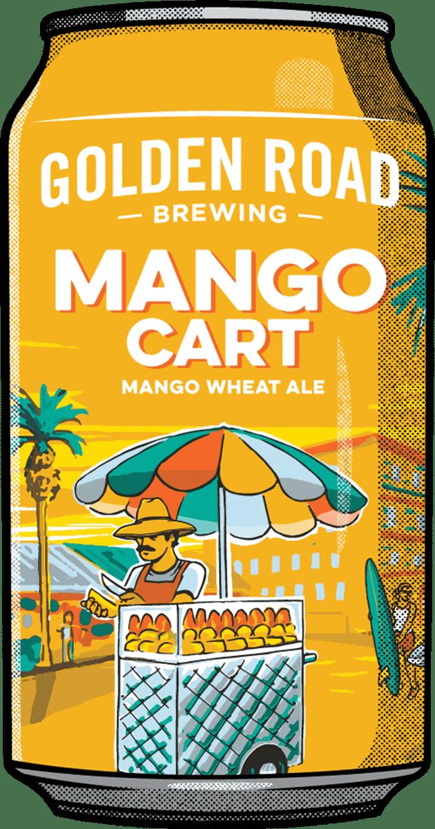 Golden Road Mango Cart Wheat Ale