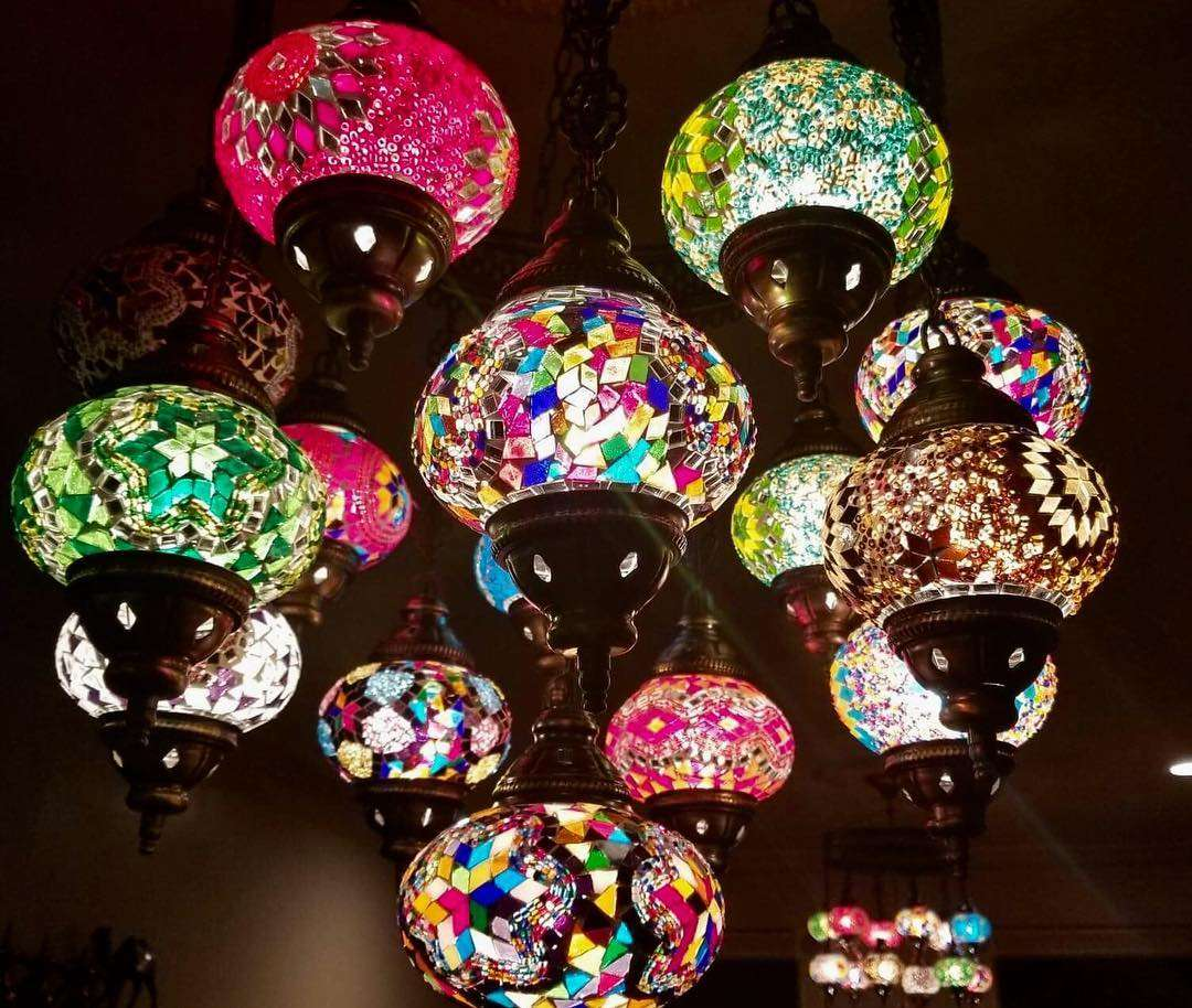 Colorful decorative lighting