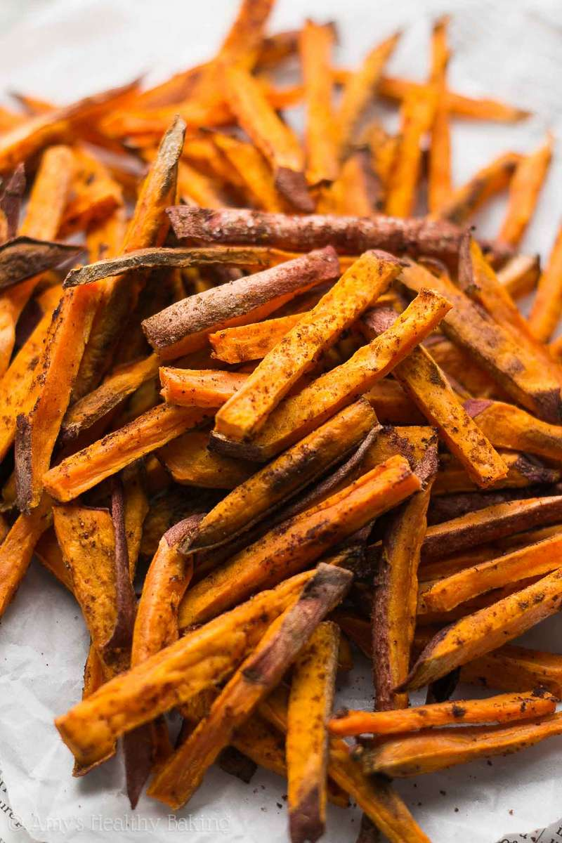 Cinnamon Sweet Potato Fries