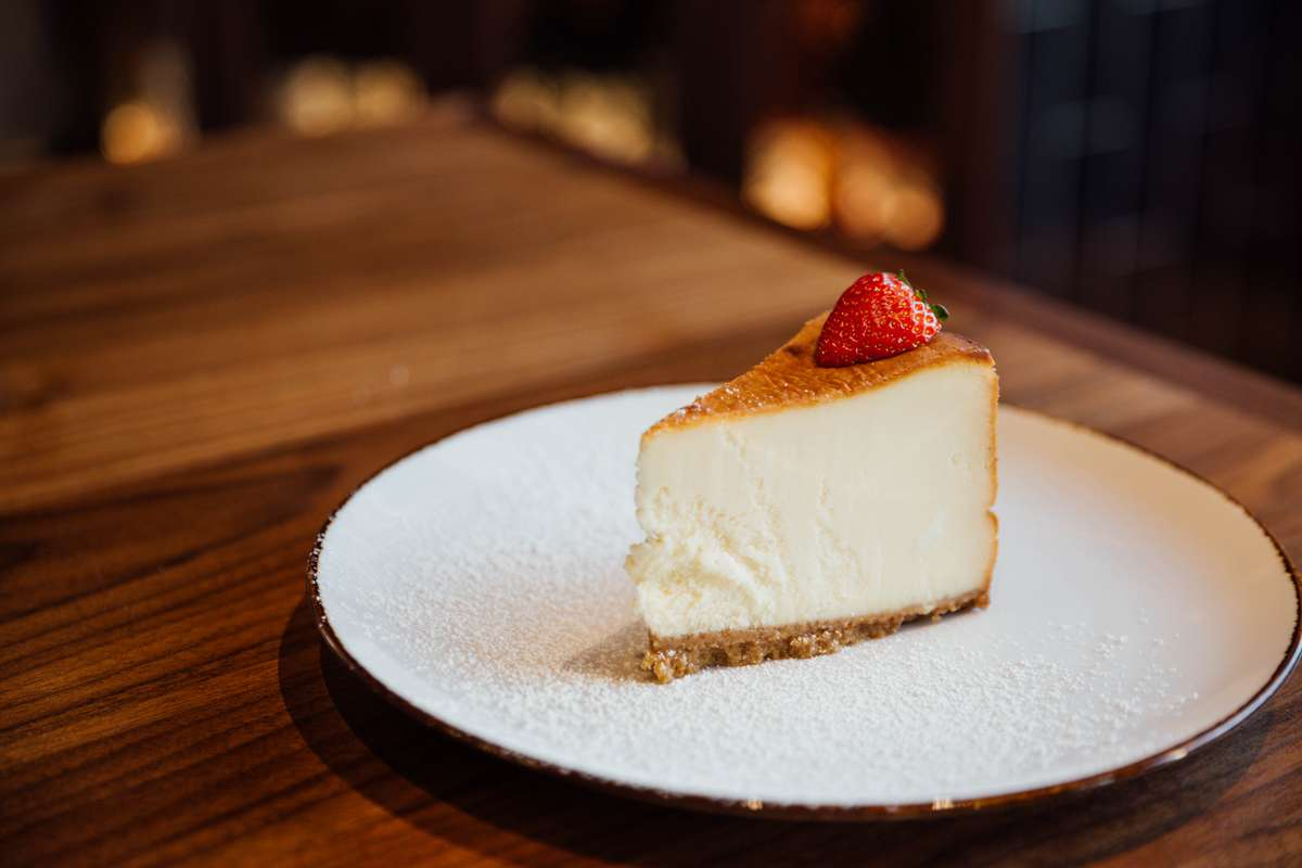 10 in New York Cheesecake