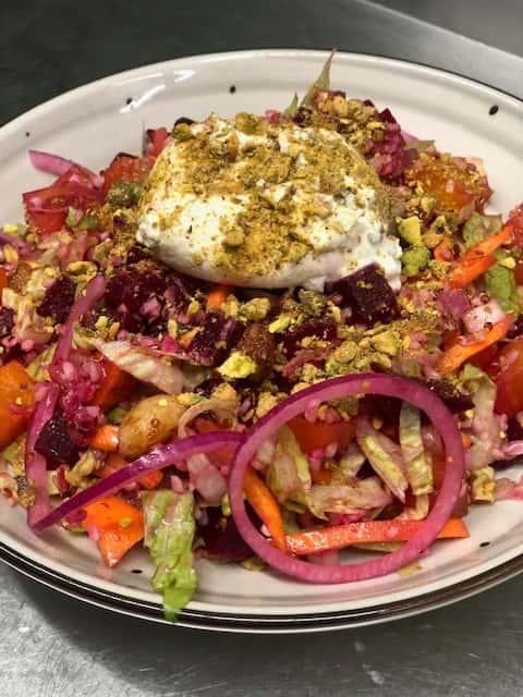 Burrata & Beet Salad