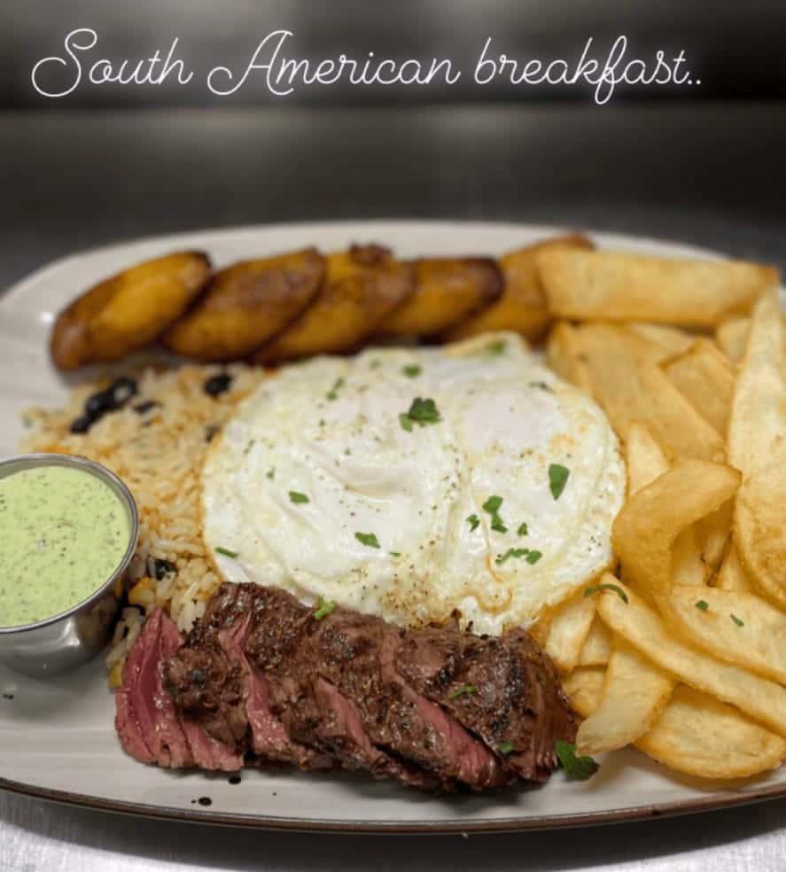 south american breakfast