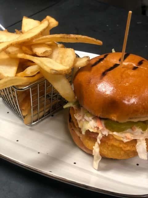 Crispy Bang Bang Chicken Sandwich