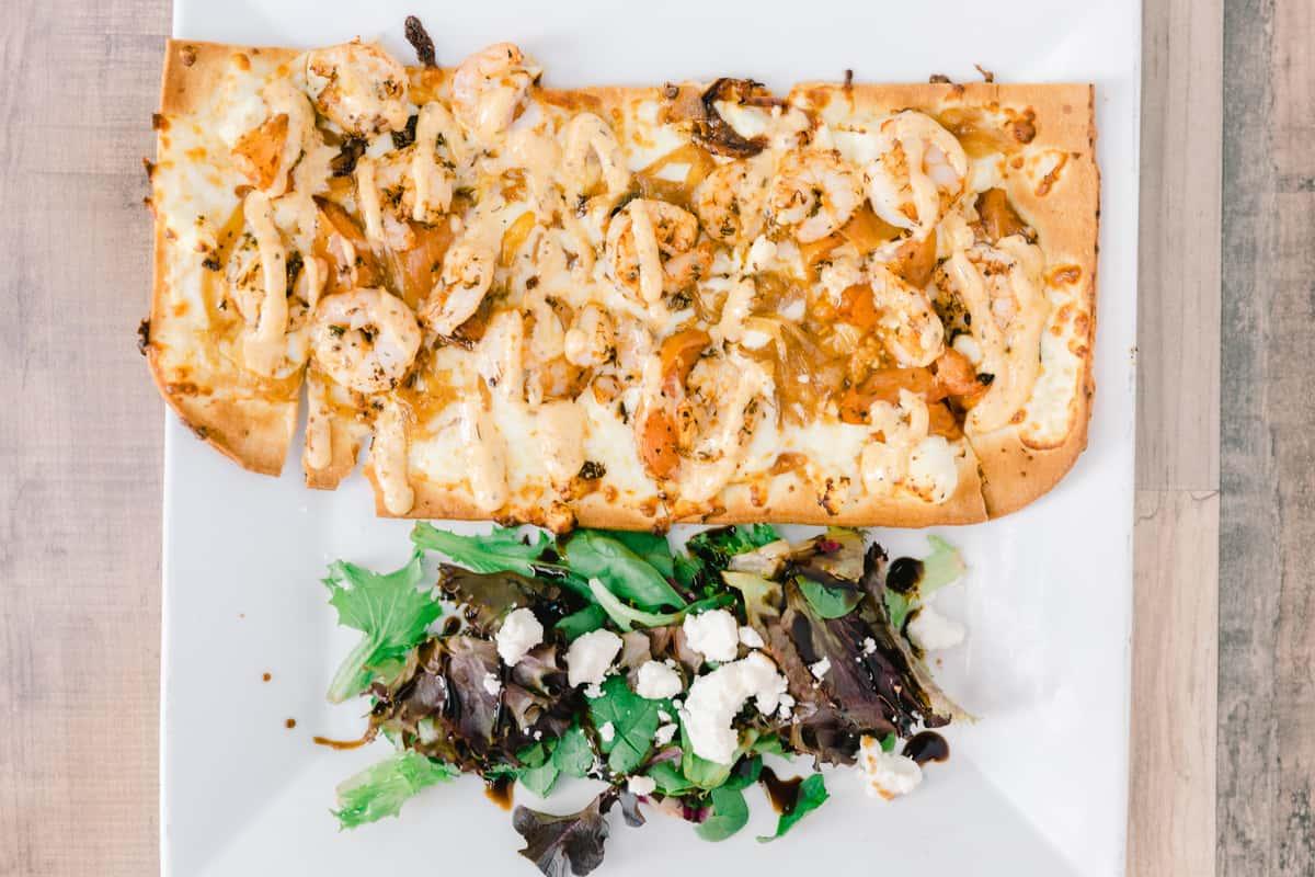 Cajun Shrimp Flatbread