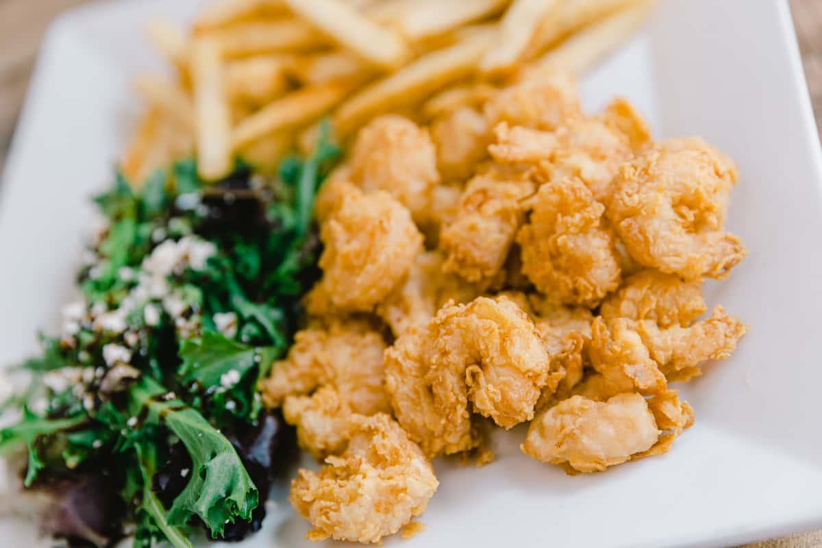 Shrimp, Catfish, or Boneless Chicken Plate