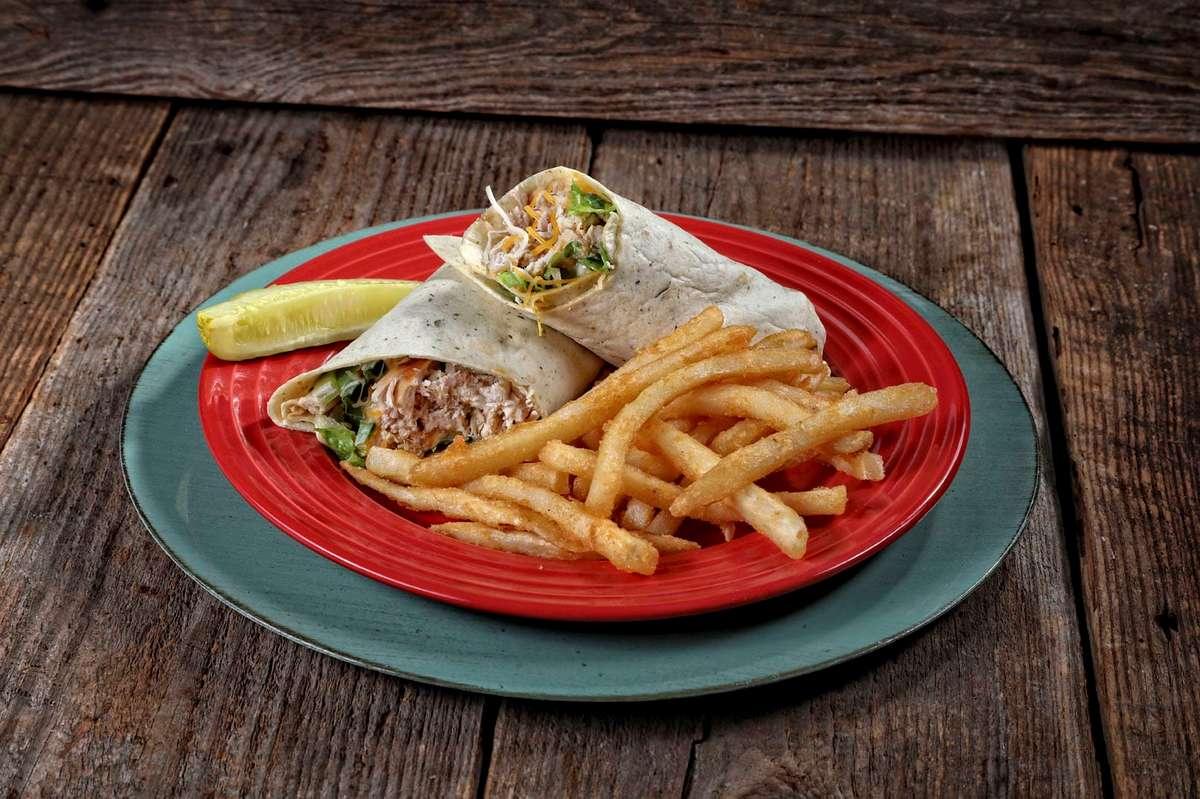 *Pulled Chicken-Wrap