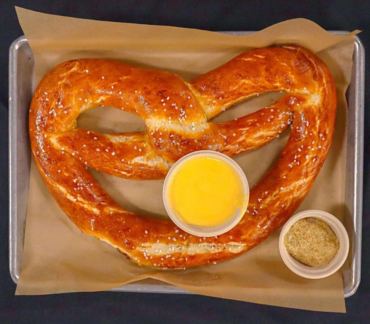Pretzel and Cheese