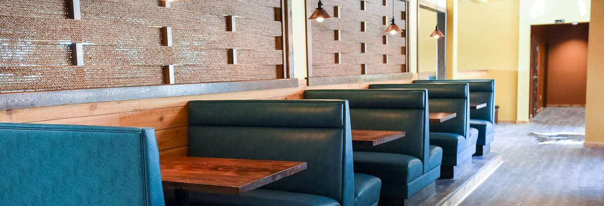 Interior dining and event space