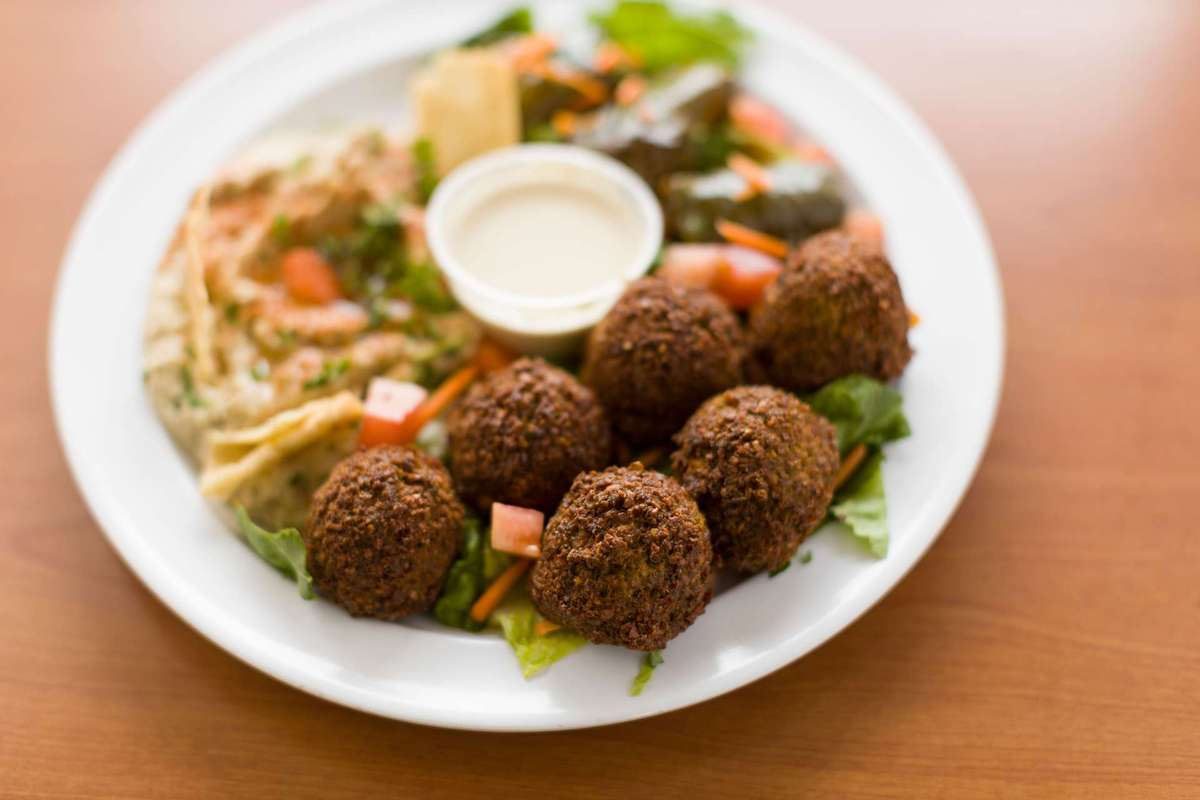 Falafel from Chicken Dijon in El Segundo