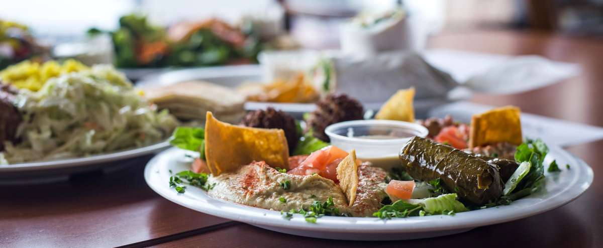 Mediterranean Plates at Chicken Dijon