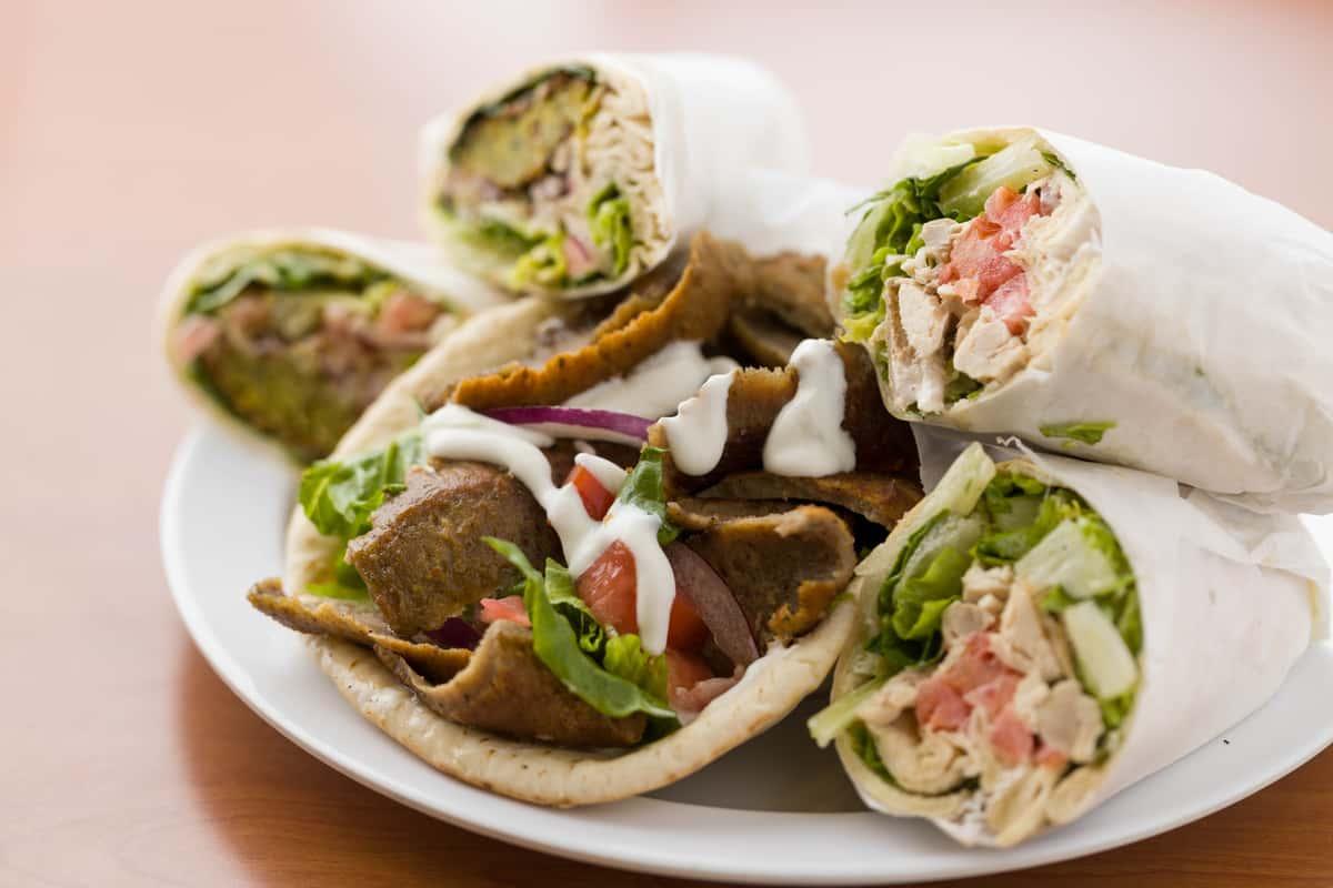 assorted catering sandwiches at chicken dijon in el segunado and renondo beach, ca