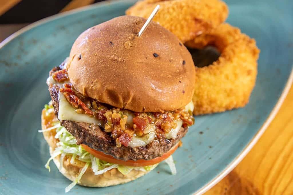 Hot & Spicy Burger