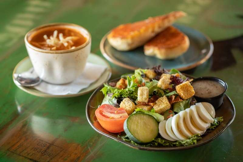 #7. Soup and Salad Combo