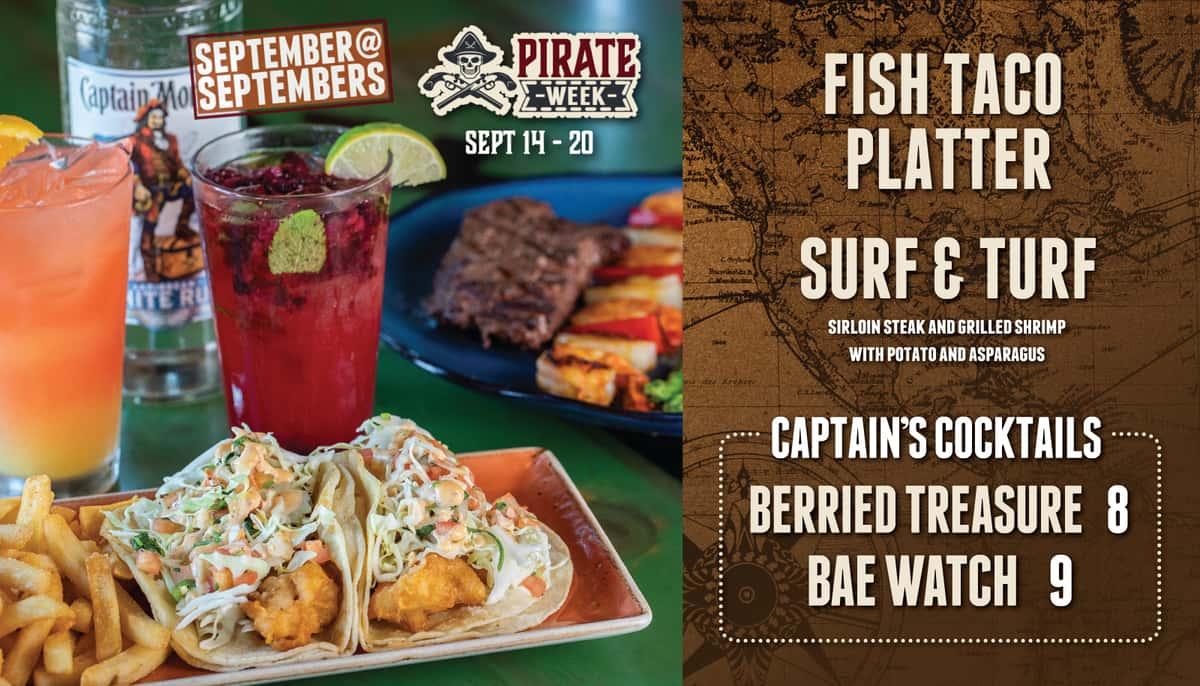 September at Septembers - Pirate Week