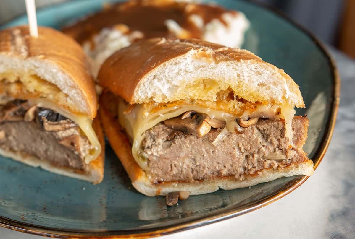 Cold or Hot Meatloaf Sandwich