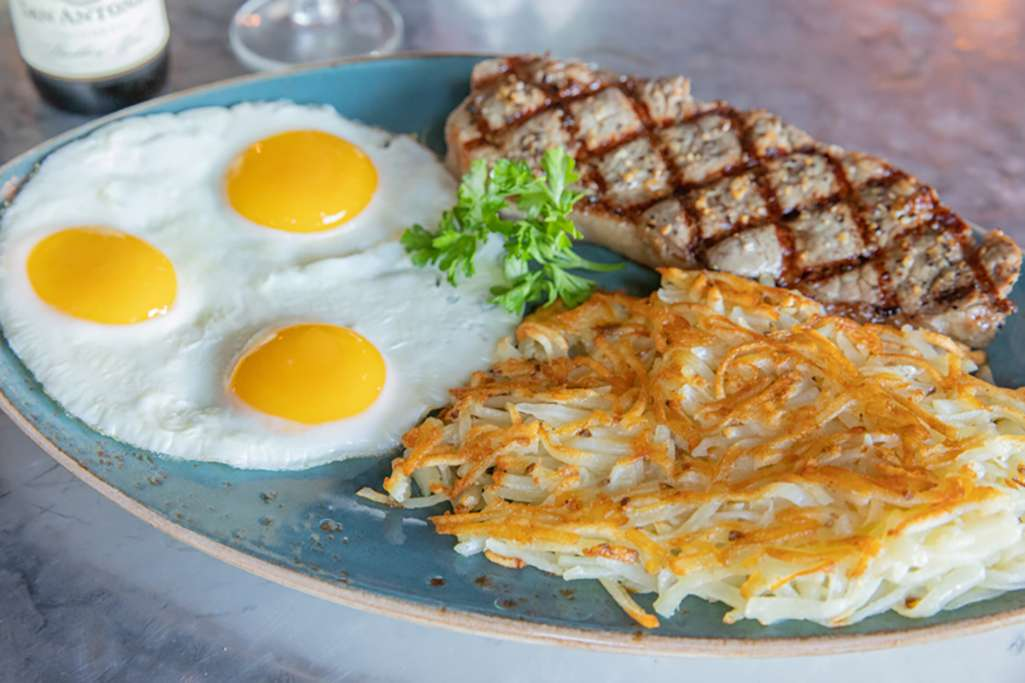 NY Steak & Eggs
