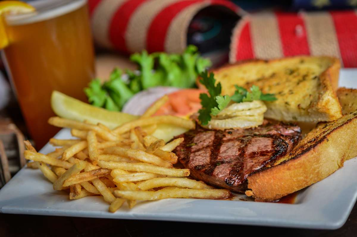 "* The Lil' ""Dogie""-Deconstructed Steak Sandwich"