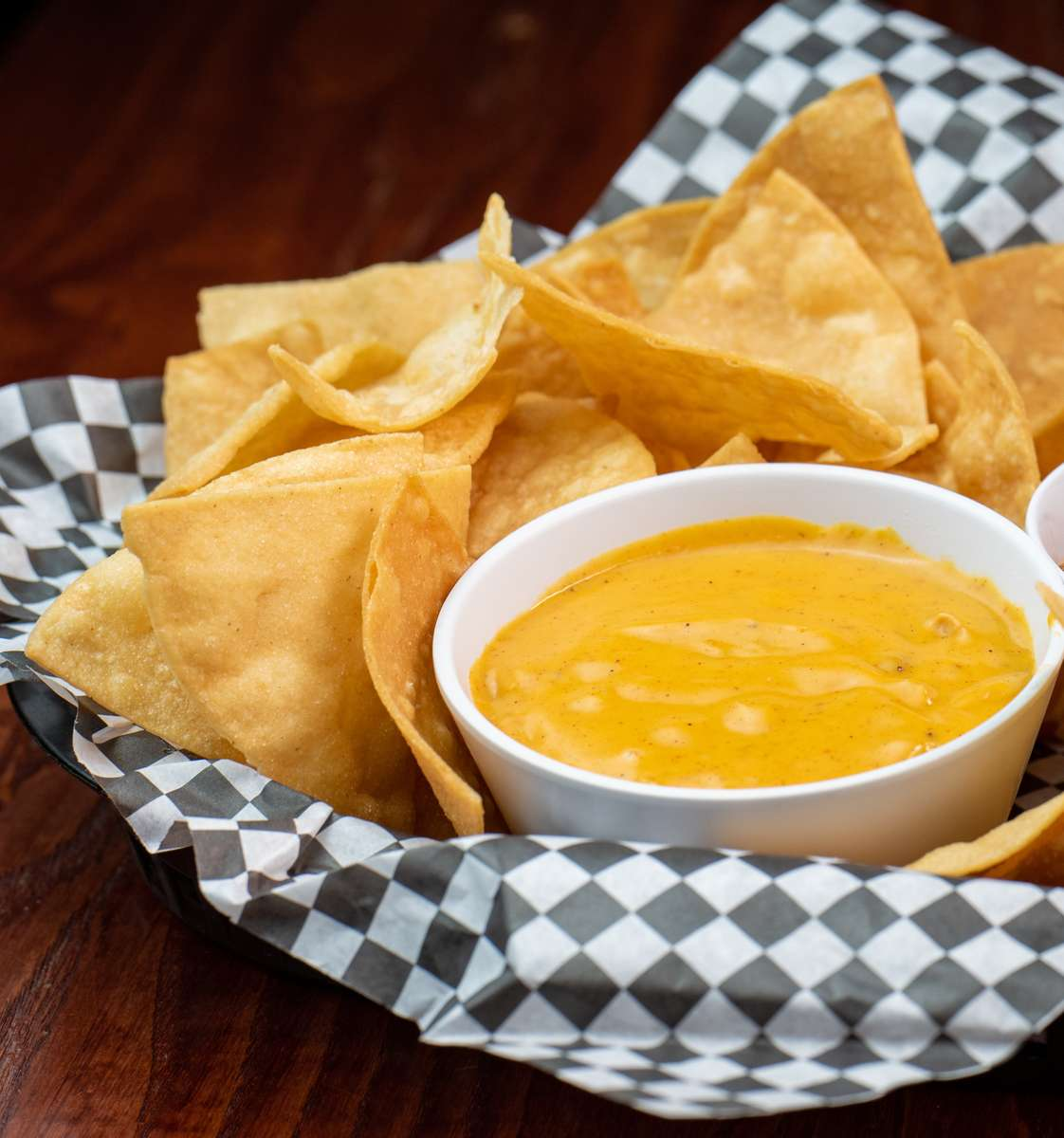Chips & Queso Half**