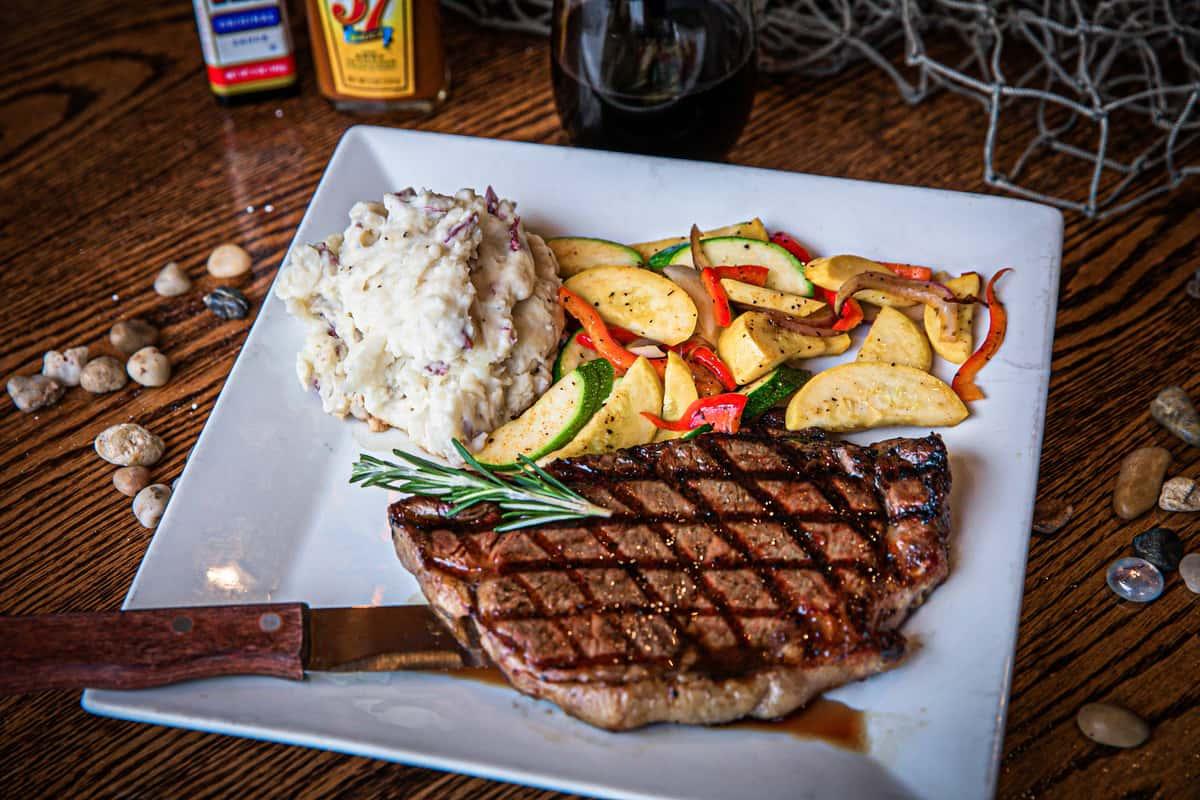 12 oz New York Steak