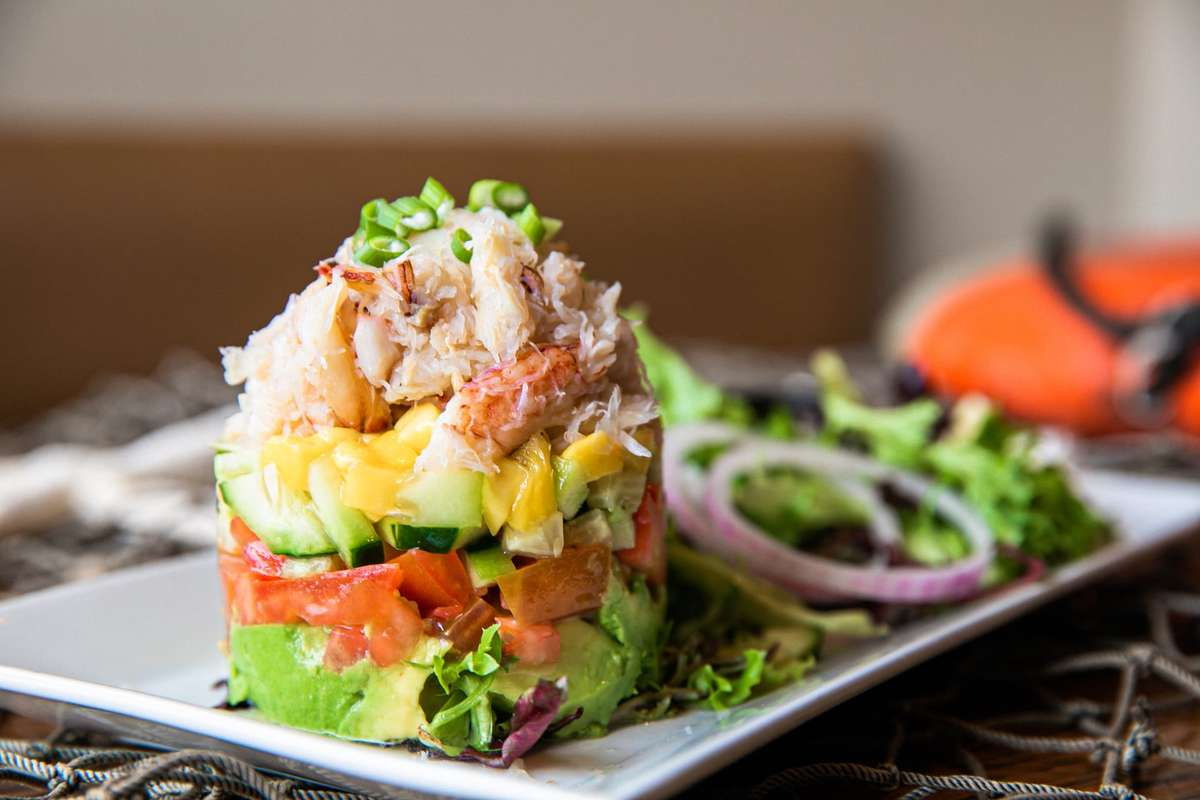 Dungeness Crab Stack
