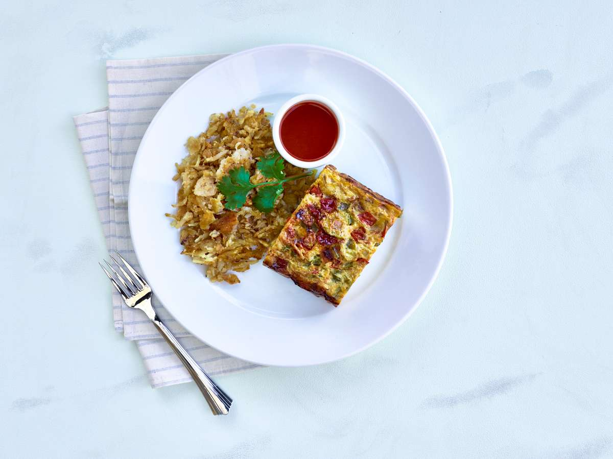 Egg Bacon Frittata