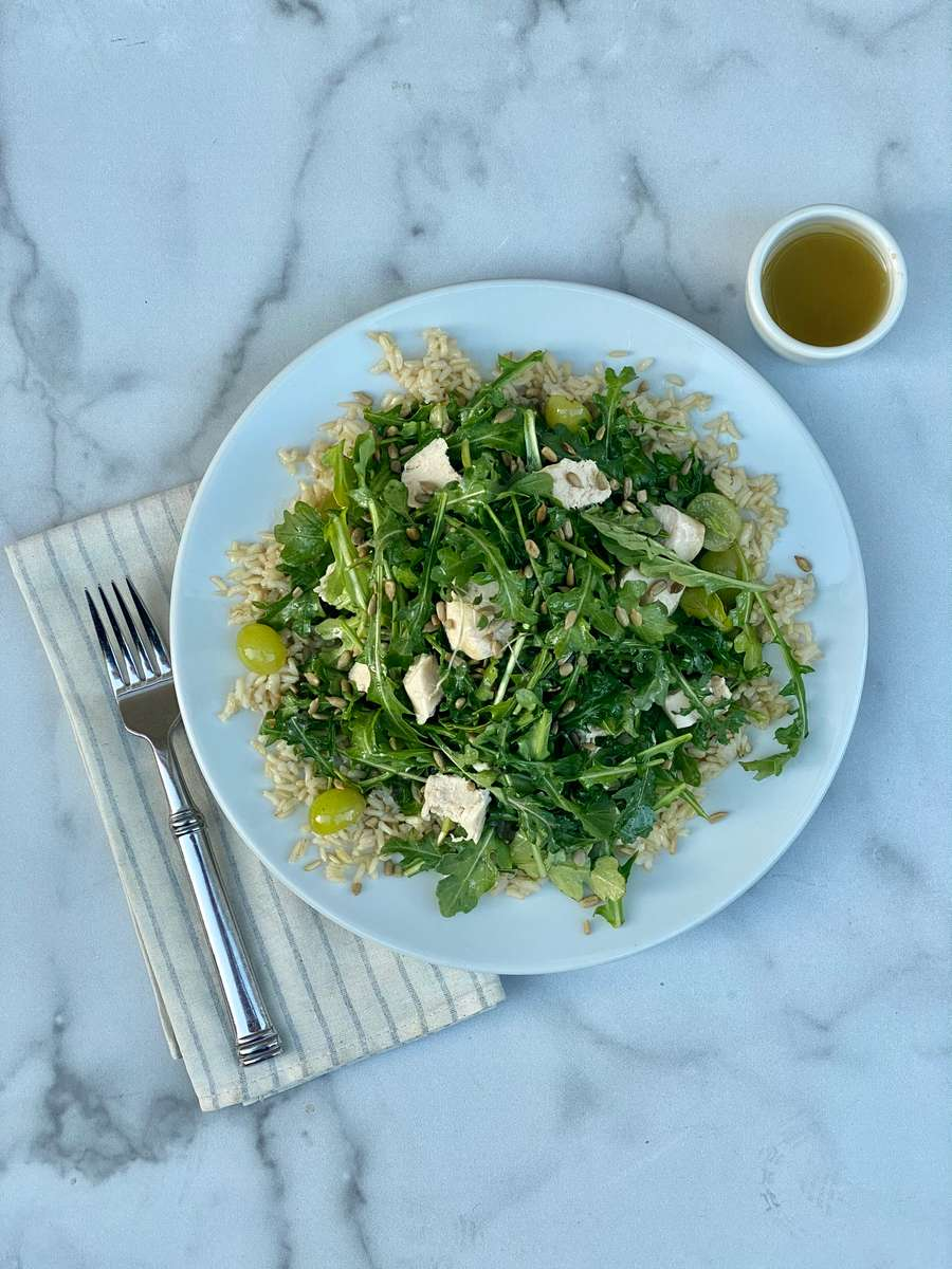 """Organic Kitchen's"" Arugula Salad"