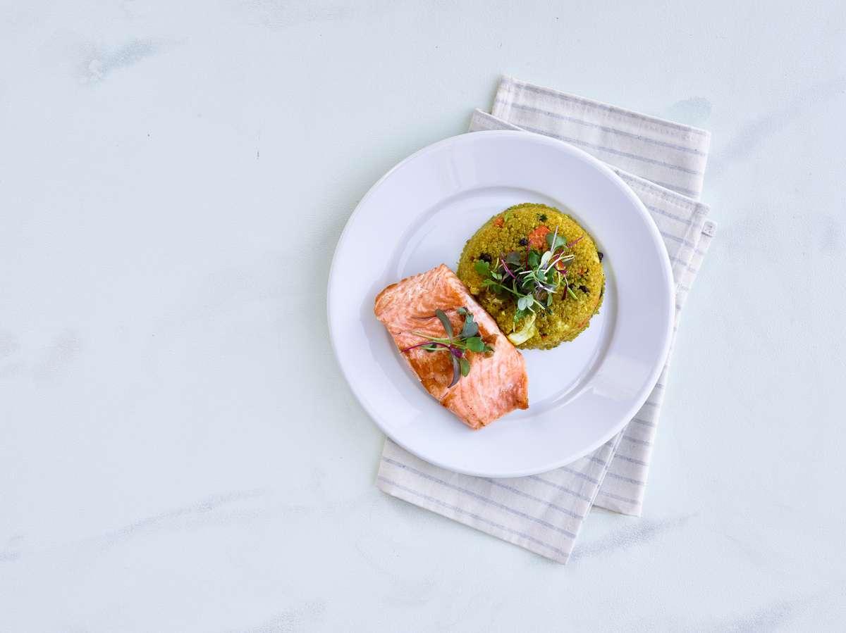 Salmon Wellness Bowl