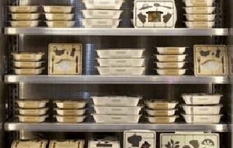 stacks of meals