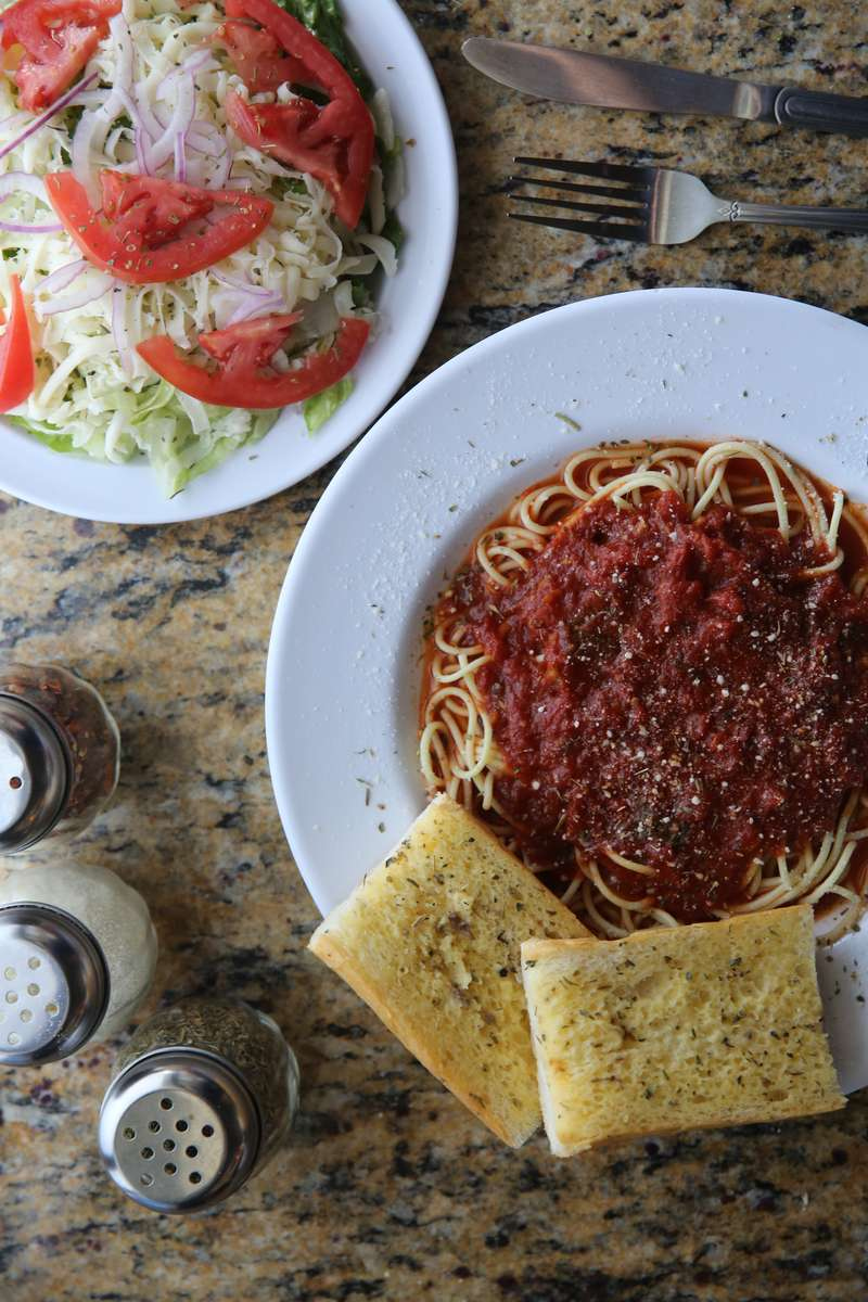 MONDAY - Spaghetti Marinara