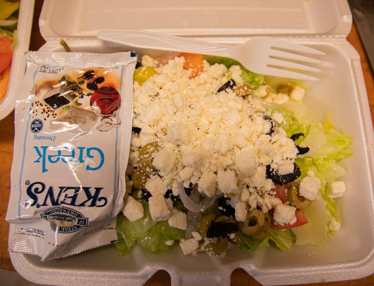 Greek Salad**