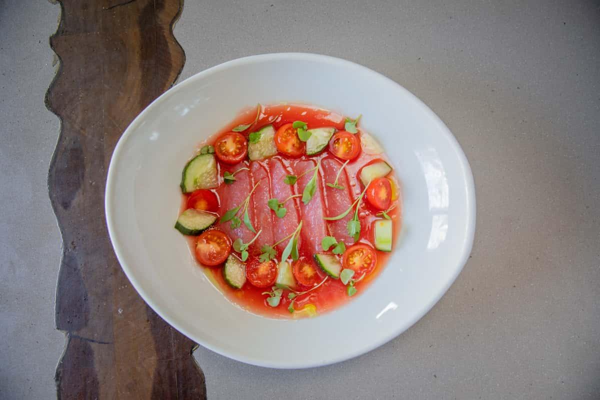 Yellowfin Tuna Aguachile