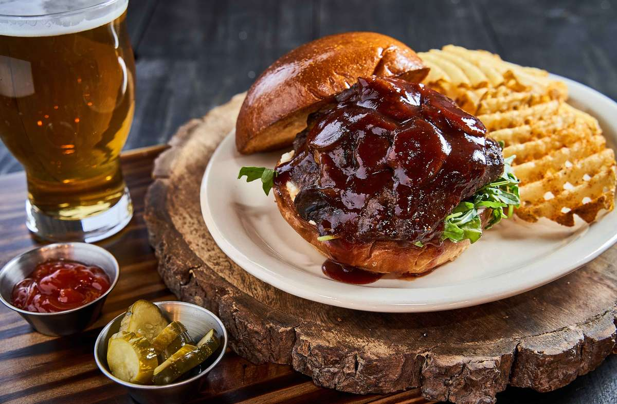 BBQ Bison Burger*