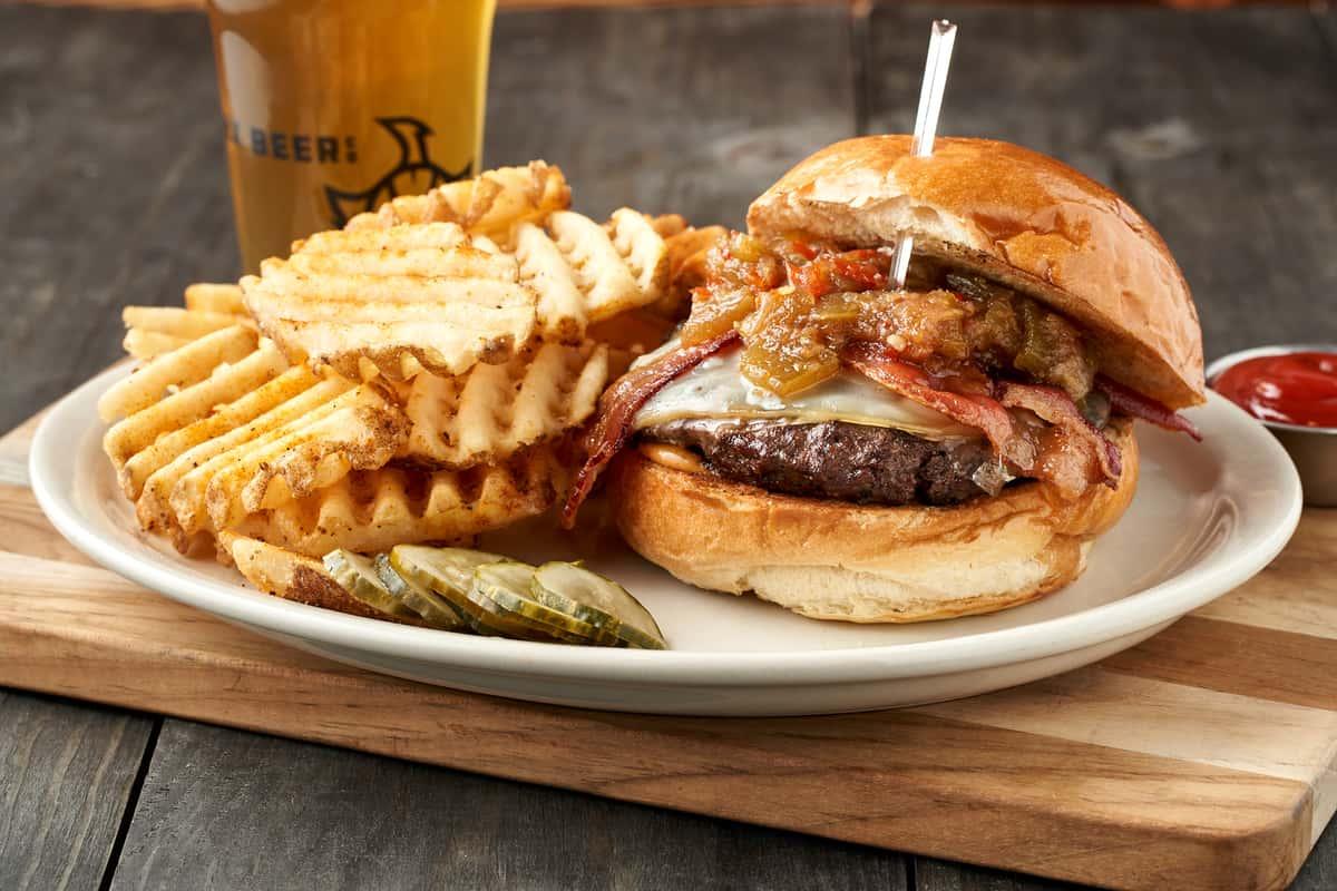 Pepper Jam Burger