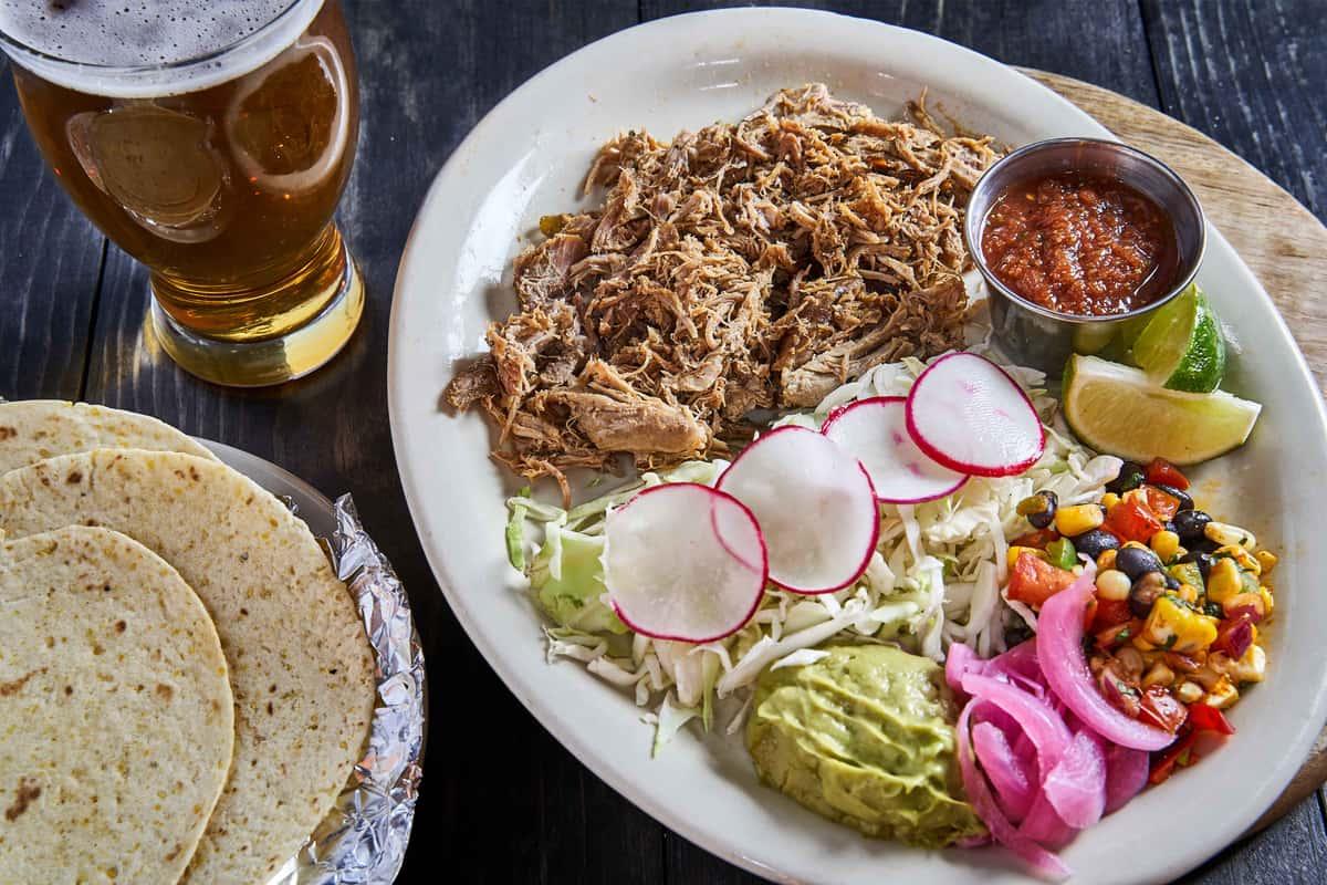 Smoked Pork Shoulder Tacos