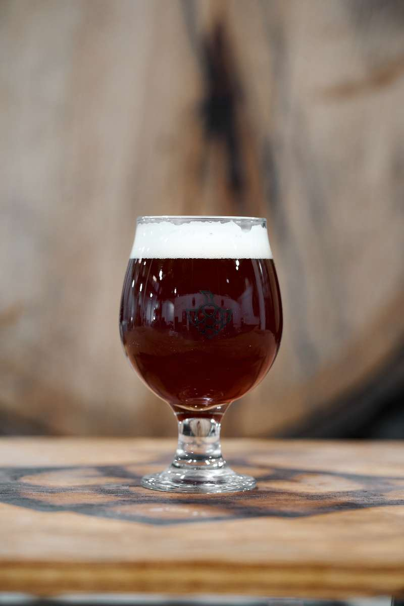 Bourbon Barrel Barley Wine