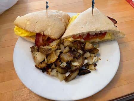 Ciabatta Breakfast Sandwich